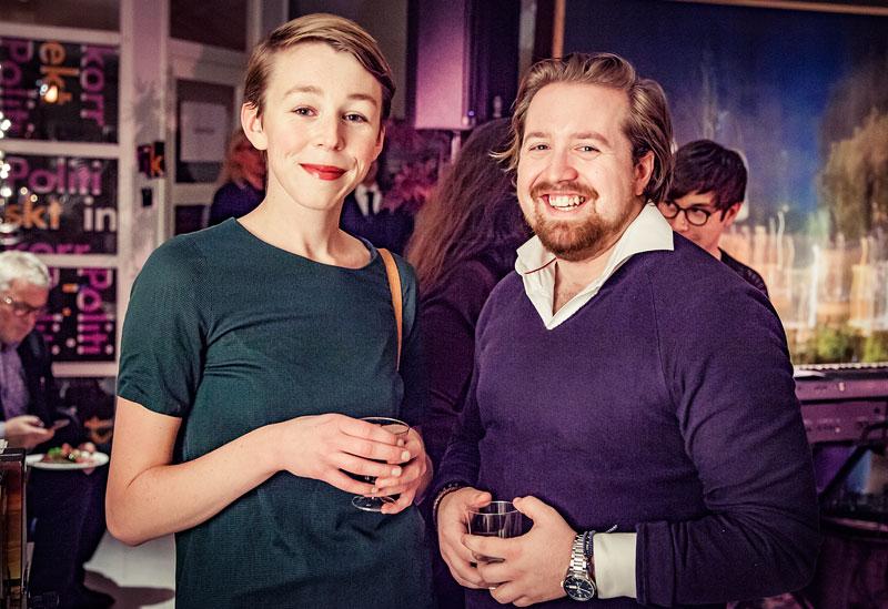 Emma S Majanen och William Odeholm Majanen