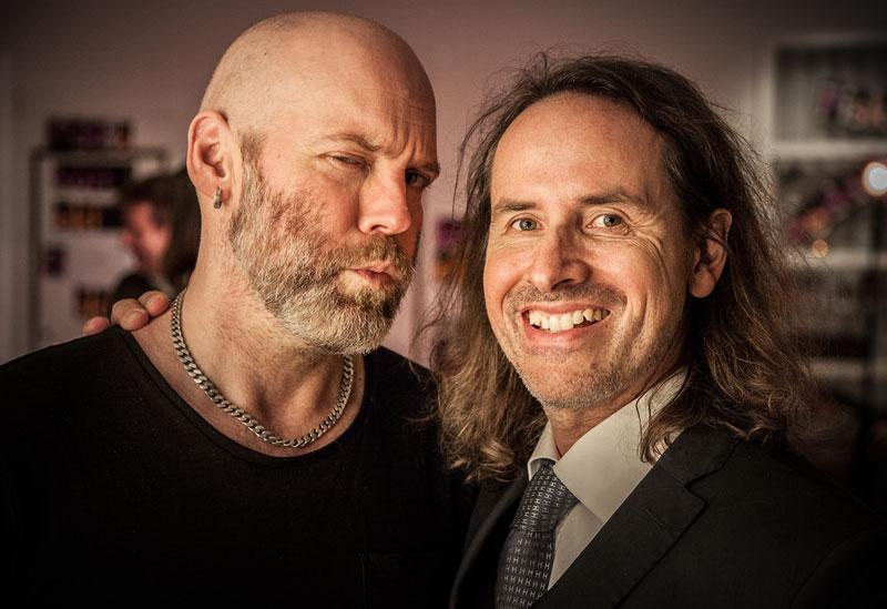 Christian Svensson och Peter Majanen
