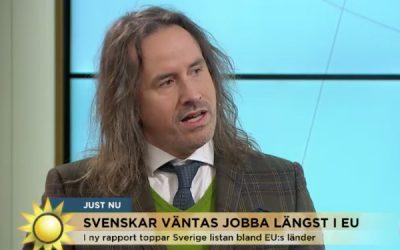 Svenskar jobbar längre